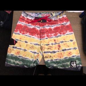 LRG board shorts